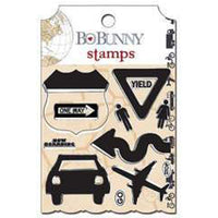 Bo Bunny Detour Clear Stamps