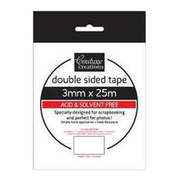 Couture Creations 3mm Double Sided Tape