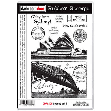 Darkroom Door Sydney Vol 2 Stamp Set