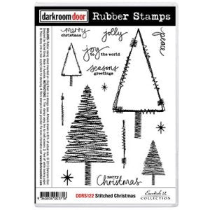 Darkroom Stitched Christmas Stamp Set