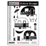 Darkroom Door Carved Caravans Stamp Set