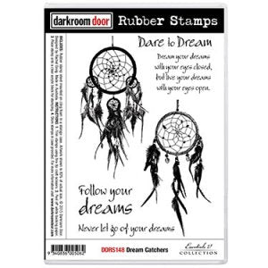 Darkroom Door Dreamcatchers Stamp Set
