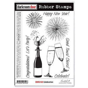 Darkroom Door Celebration Stamp Set