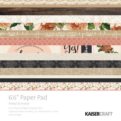 Kaisercraft Always and Forever Paper Pad