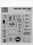 Simple Stories Carpe Diem - Home Sweet Home Clear Stamps