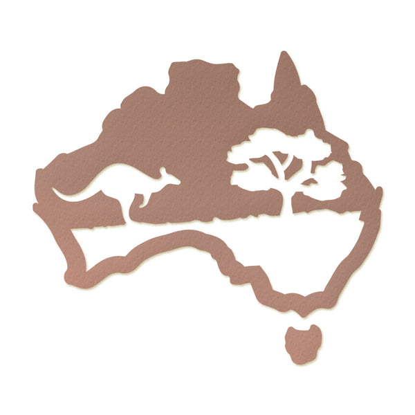 Ultimate Crafts Die - Australiana Collection - Sunburnt Country