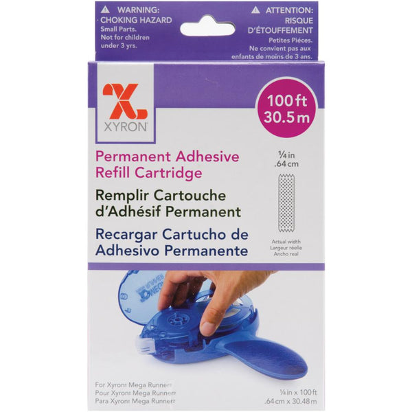 Xyron 6mm Permanent Adhesive Refill
