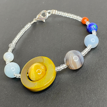 Load image into Gallery viewer, Solar System Planets Beaded Bracelet