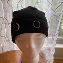 Load image into Gallery viewer, Phases of the Moon Fleece Beanie