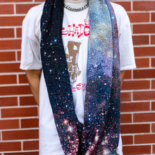 Load image into Gallery viewer, Nebula Image Woven Infinity Scarf