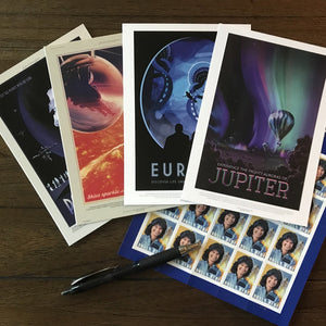 Out Of This World JPL Travel Postcard Set