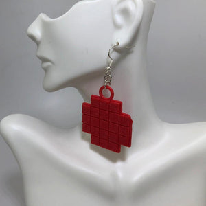 Kepler 3D Printed Plastic Earrings