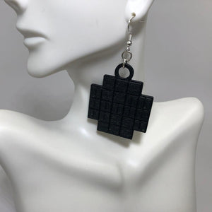 Kepler Field of View 3D Printed Plastic Earrings