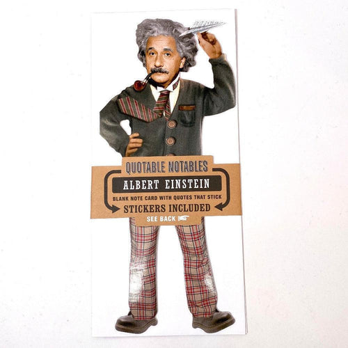 Albert Einstein Notecard
