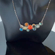 Load image into Gallery viewer, Solar System Bib Necklace