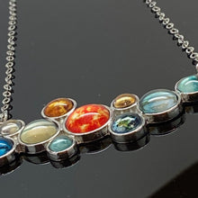 Load image into Gallery viewer, Solar System Cluster Necklace
