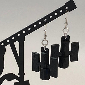 Hubble 3D Printed Plastic Earrings