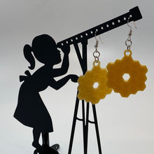 Load image into Gallery viewer, James Webb Space Telescope Mirror 3D Printed Earrings