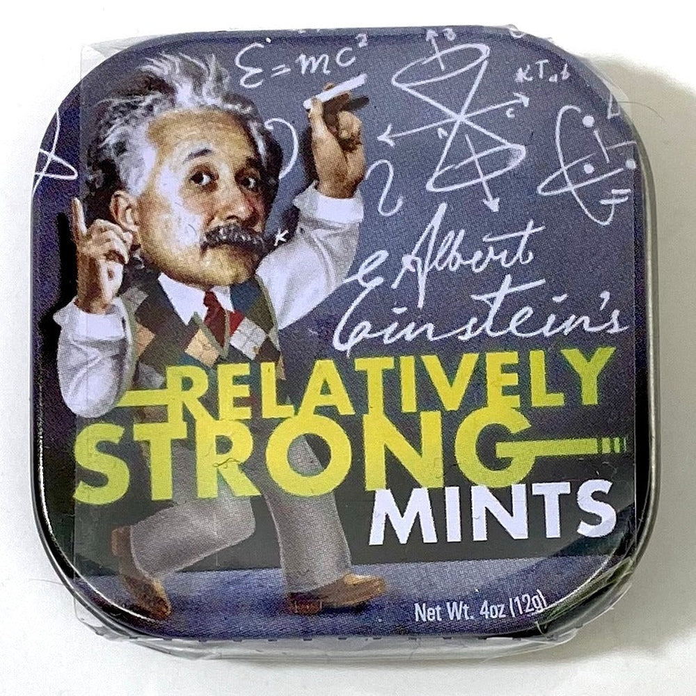 Einstein Candy Mints