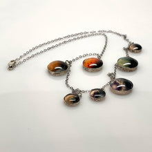 Load image into Gallery viewer, Trappist1 Sterling Silver Necklace