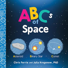 Load image into Gallery viewer, ABCs of Space Board Book