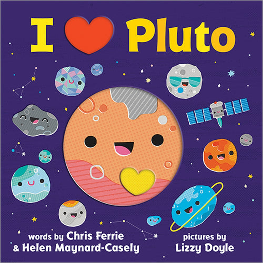 I Heart Pluto Board Book