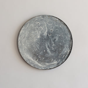 Rhea Saturn's Moon Acrylic on Canvas Painting