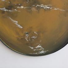 Load image into Gallery viewer, Titan Saturn's Moon Acrylic on Canvas Painting