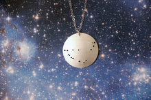 Load image into Gallery viewer, Constellation Pinhole Sterling Silver Necklace