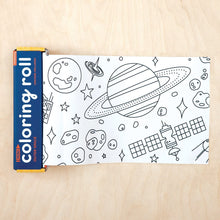 Load image into Gallery viewer, Outer Space Kids Coloring Roll