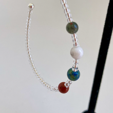 Load image into Gallery viewer, Solar System Planets Hoop Earrings