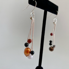Load image into Gallery viewer, Trans-Neptunian Objects Mismatched Dangle Earrings