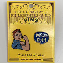 Load image into Gallery viewer, Rosie the Riveter Pins