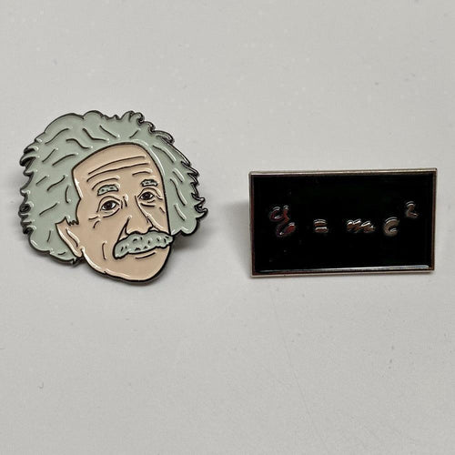 Albert Einstein Pins