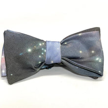 Load image into Gallery viewer, Space Print Handmade Bowtie