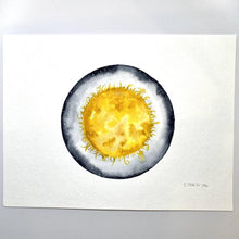Load image into Gallery viewer, Sun watercolor