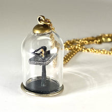 Load image into Gallery viewer, James Webb Space Telescope Diorama Necklace