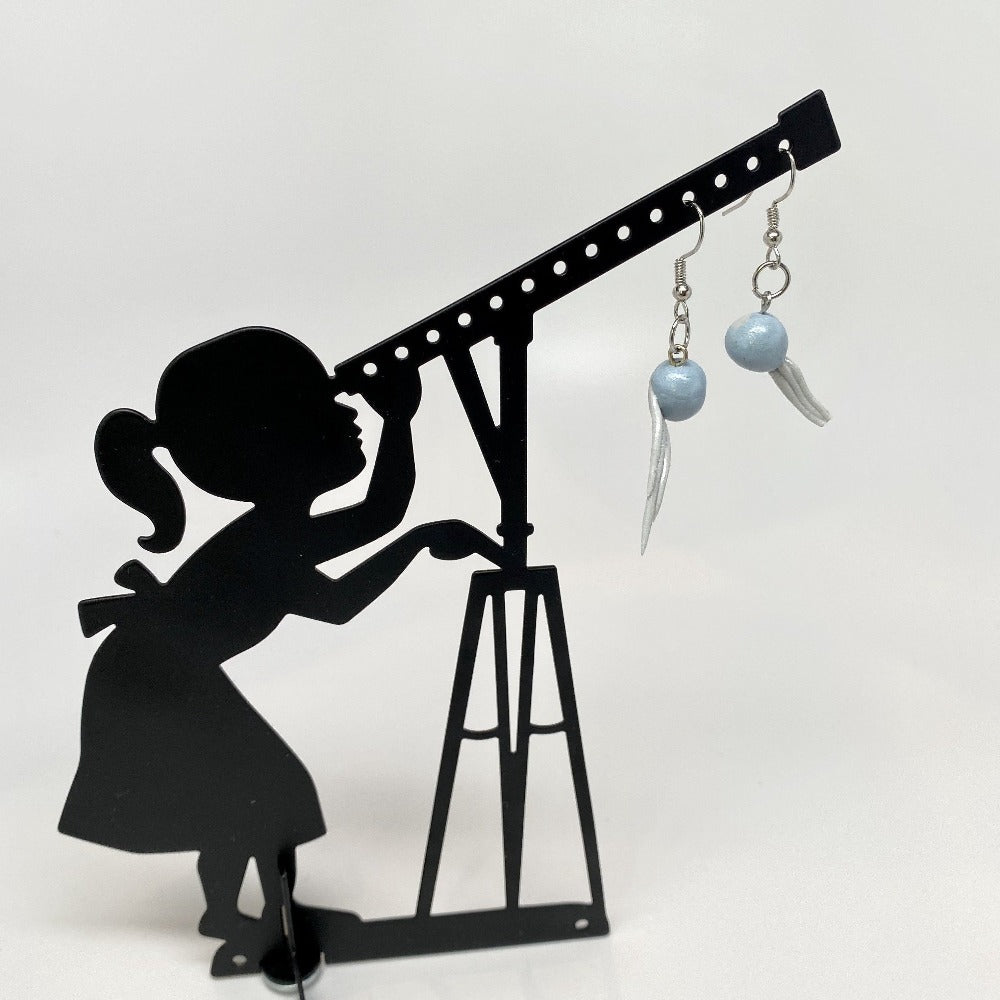 Comet Drop Earrings