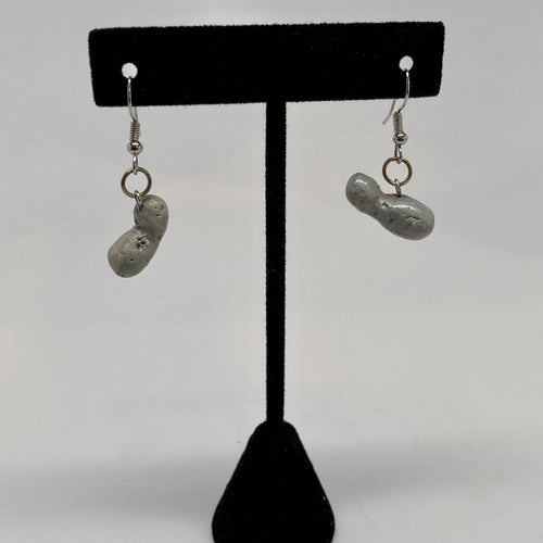 2014 MU69 (pre-flyby prediction) Dangle Clay Earrings
