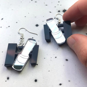 Hubble Space Telescope Acrylic Earrings