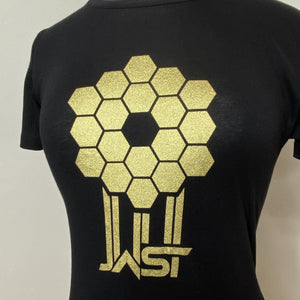 Fitted James Webb Space Telescope Mirror T-Shirt