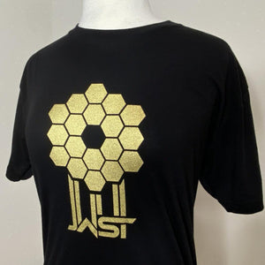 Straight James Webb Space Telescope Mirror T-Shirt