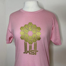 Load image into Gallery viewer, Straight James Webb Space Telescope Mirror Pink T-Shirt
