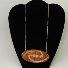 Load image into Gallery viewer, Spiral Galaxy Wood Necklace
