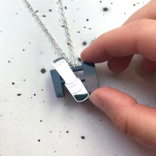 Load image into Gallery viewer, Hubble Space Telescope Acrylic Necklace
