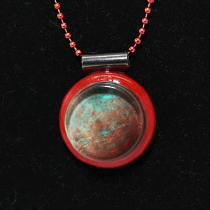 Charon Pluto's Moon 3D-Ready Necklace