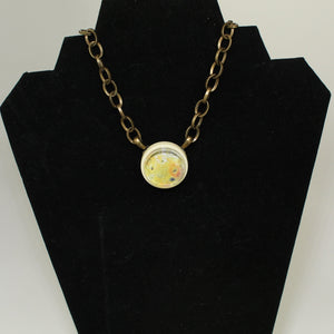 Io Jupiter's Moon Vintage Necklace