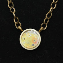 Load image into Gallery viewer, Io Jupiter's Moon Vintage Necklace