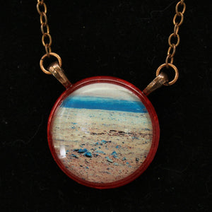 Martian Surface Necklace