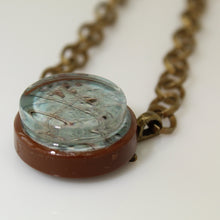 Load image into Gallery viewer, Europa Jupiter's Moon Vintage Necklace